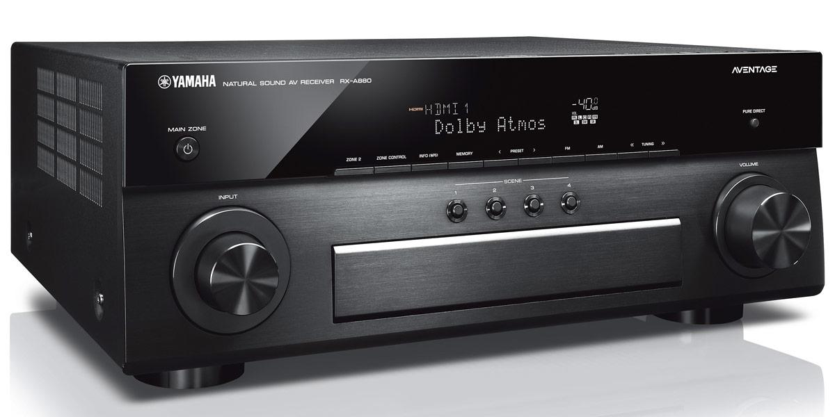 Yamaha MusicCast RX-A880 Noir