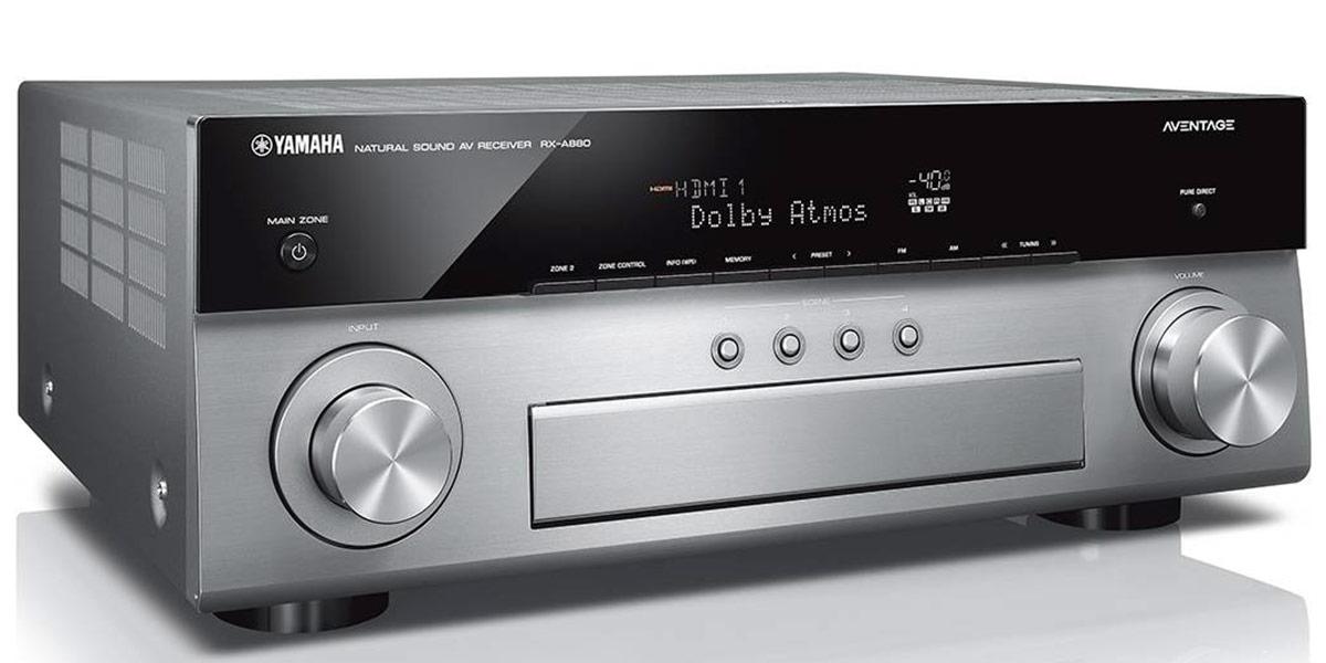 Yamaha MusicCast RX-A880 Titane
