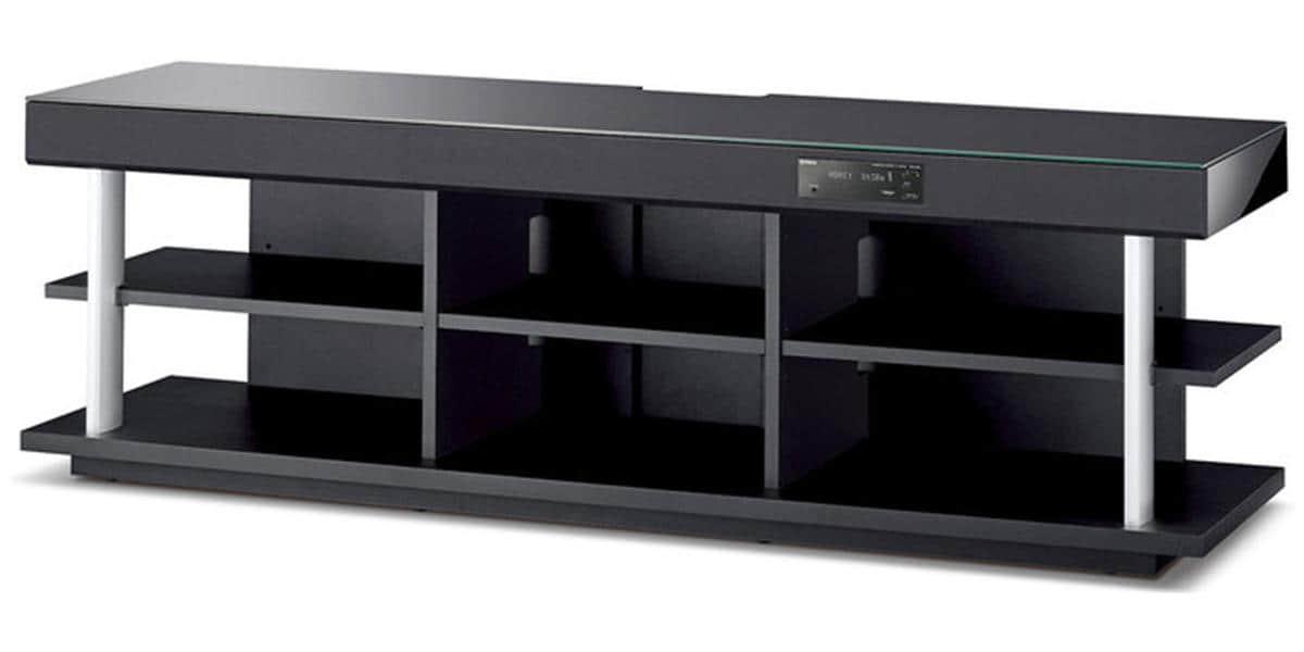 Yamaha yrs 2100 noir meubles hifi sur easylounge for Meuble yamaha