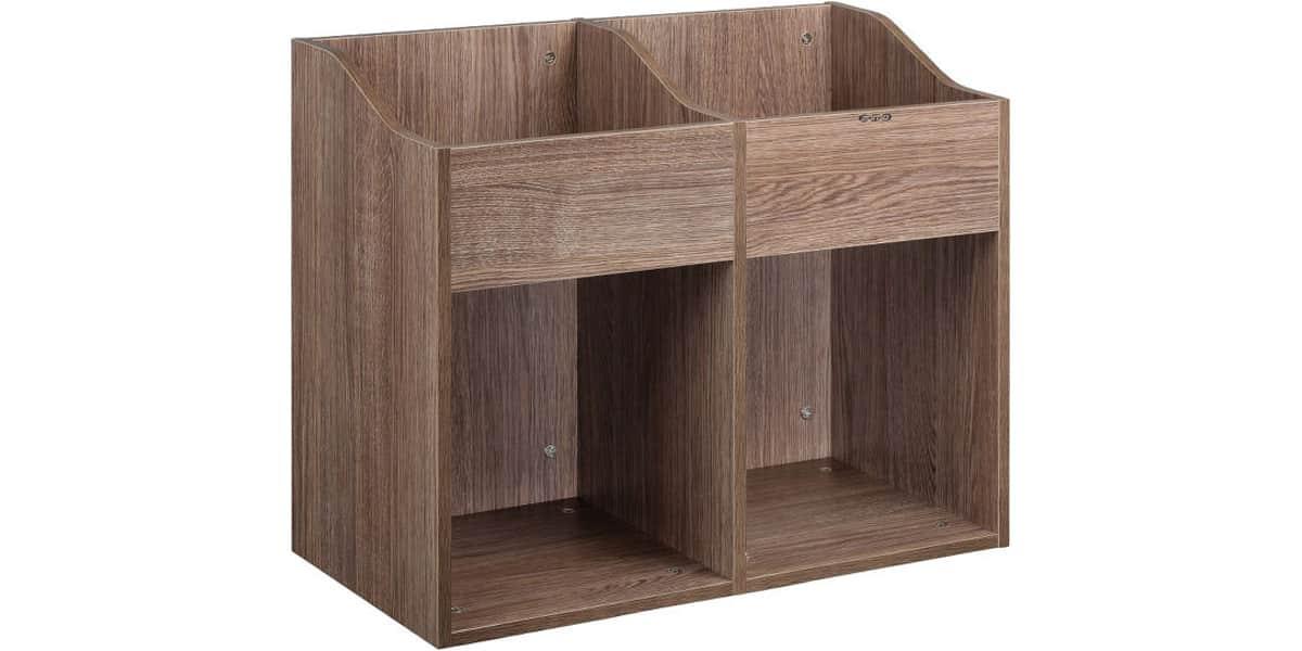 zomo ibiza vsbox200 2 noyer accessoires pour vinyle sur easylounge. Black Bedroom Furniture Sets. Home Design Ideas