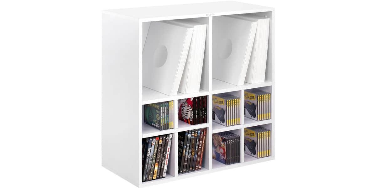 rangement disque vinyle jack u0026amp cable de rangement pour disques vinyle lp en abs. Black Bedroom Furniture Sets. Home Design Ideas