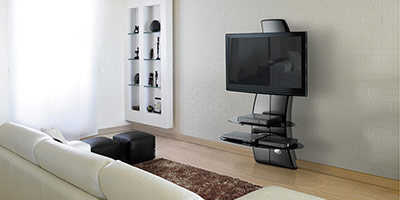 hauteur tv murale. Black Bedroom Furniture Sets. Home Design Ideas