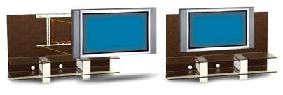 Bien choisir son meuble tv guides d 39 achat easylounge - Meuble tv avec support tv ...