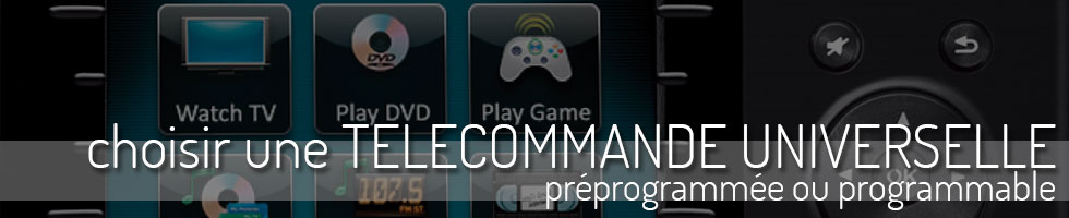 Telecommandes programmables