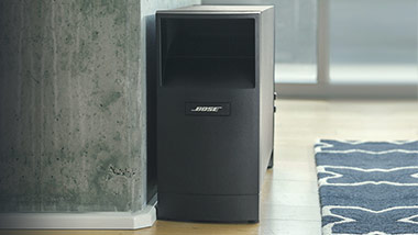 bose acoustimass easylounge. Black Bedroom Furniture Sets. Home Design Ideas